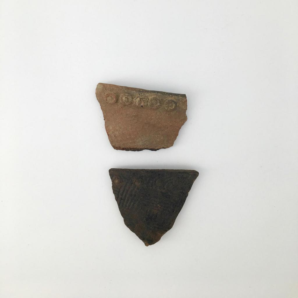 Irene Complicated Stamp (1325-1580 AD) found on the Georgia Coast